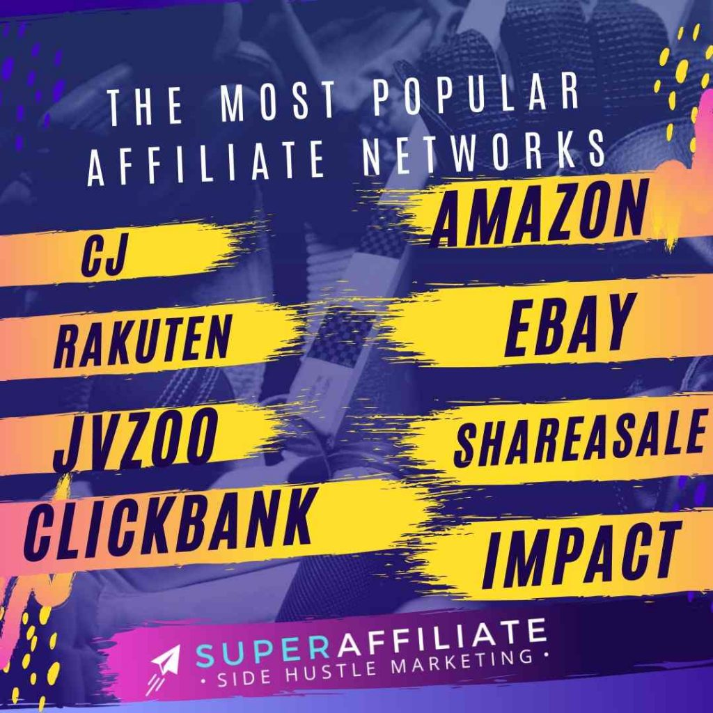 The Most Popular Affiliate Networks