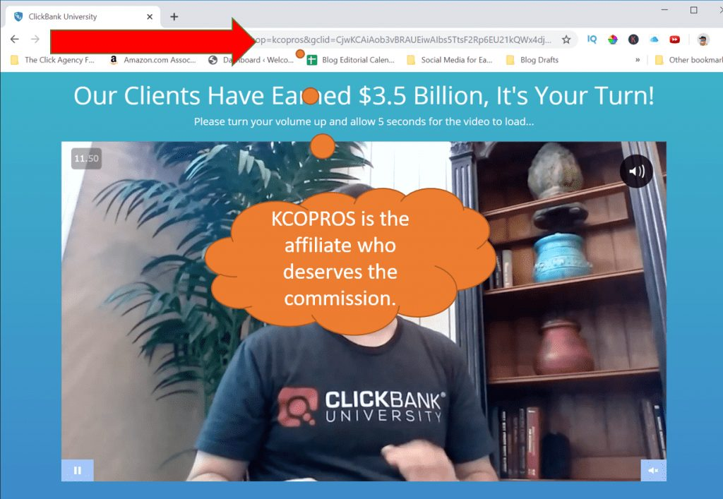 Affiliate Landing Page for Clickbank