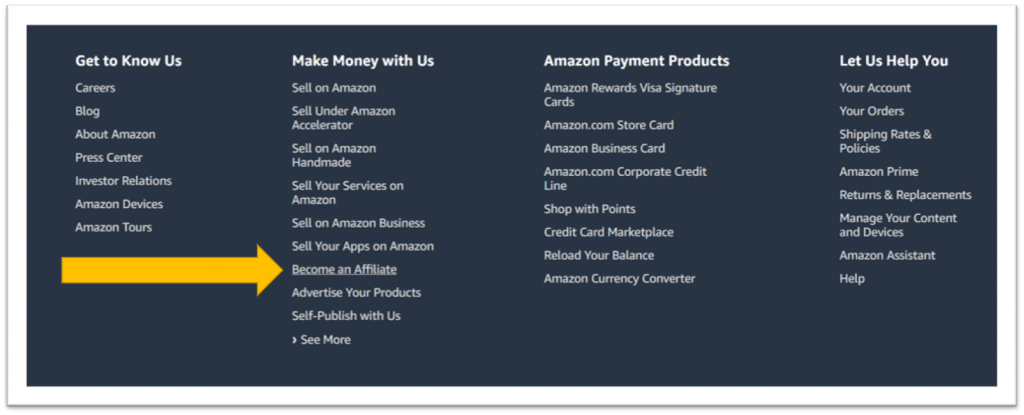 How to Apply for Amazon's Affiliate Program