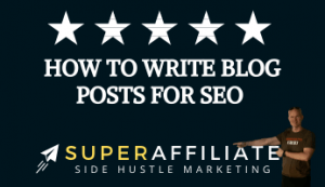 How to Write Blog Posts for SEO