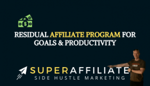 Residual Affiliate Program in the Goals & Productivity Space