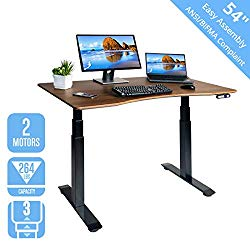 This is our standing desk recommendation for bad backs.