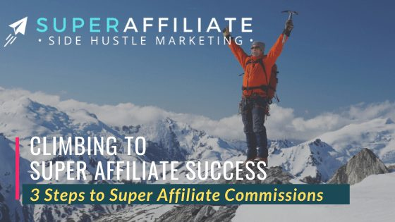 3 Steps to affiliate commissions