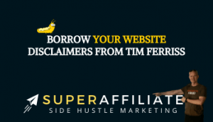 Website Disclaimer for Affiliate Marketing
