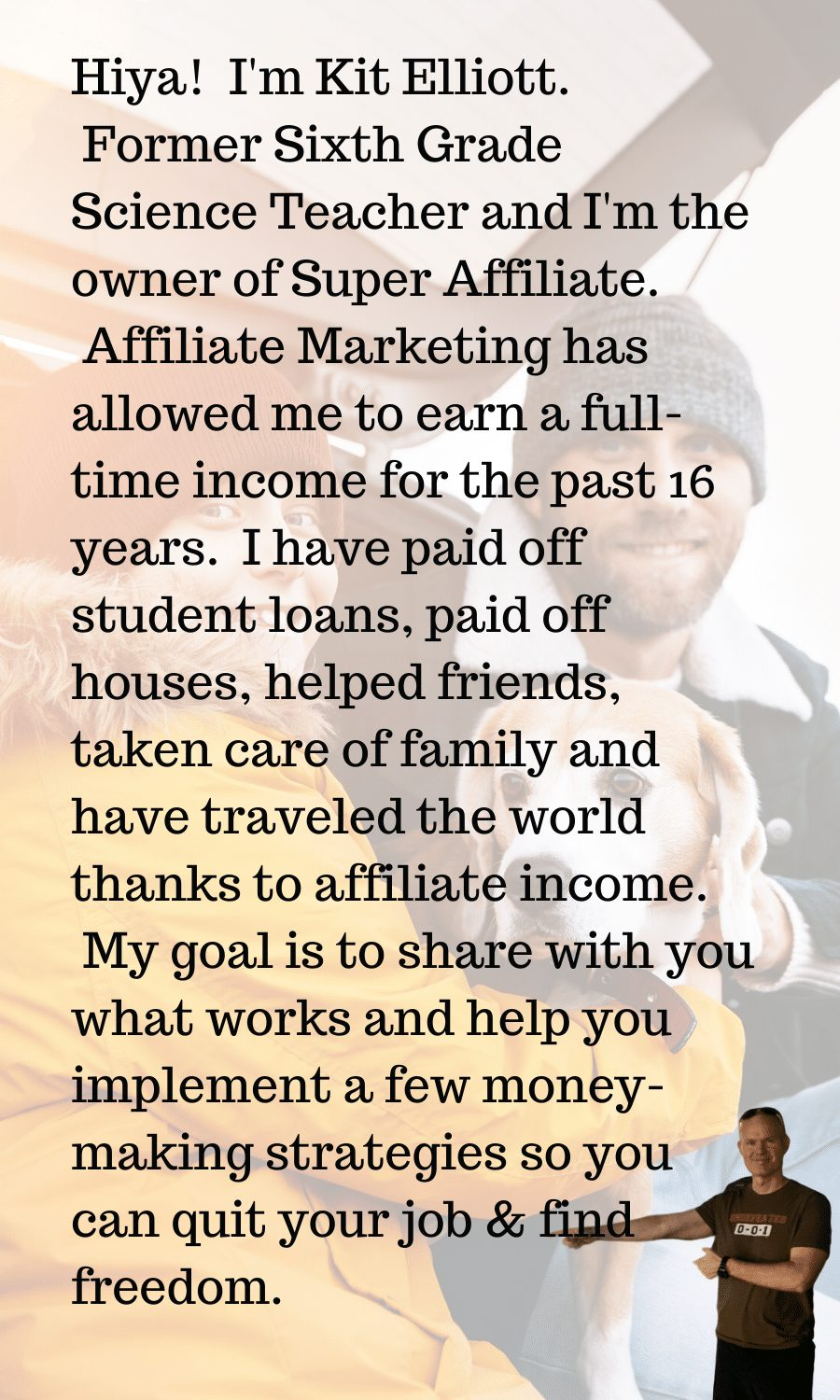 Welcome to the affiliate marketing training center.